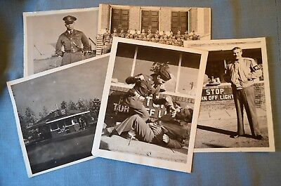 Grouping Of Wwii Mp Photos  Fort Geo Wright 1944