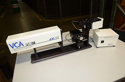 Ast Vca 2500xe Video Contact Surface Inspection Goniometer Fuji 611847