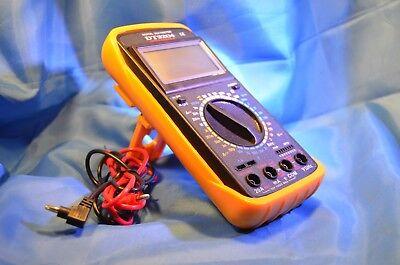Dt-9204 Digital Lcd Multimeteracdc Multitester-voltsohm Nib Professional Tool