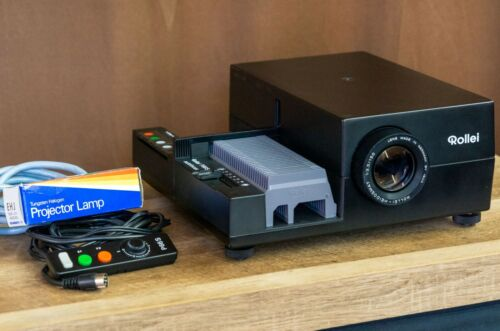 Rollei P66 S AF 6X6 6x7 6x4.5, Medium Format Slide Film Projector, with Tray