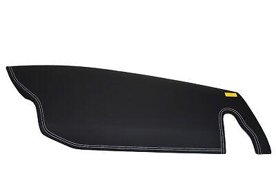 Ferrari 458 Dash Board Airbag Cover with White Seams Dashboard Black