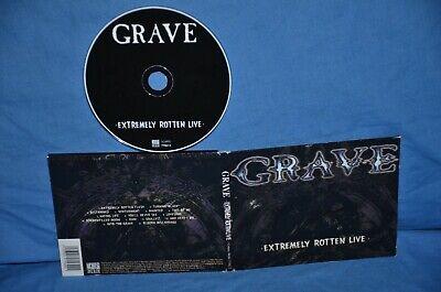 Grave 'Extremely Rotten Live' Digipak. Dismember, Fleshgrind