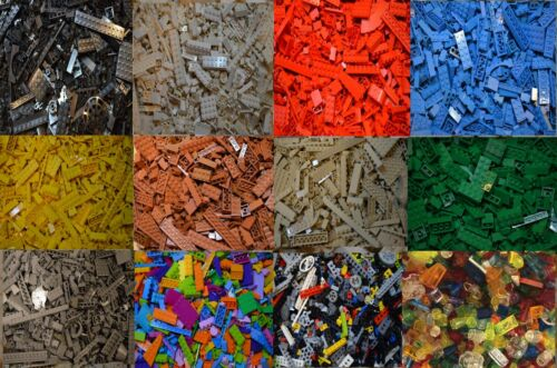LEGO 200 PIECES SORTED FROM BULK! GREAT VALUE!  CHOICE OF COLOR & QUANTITY