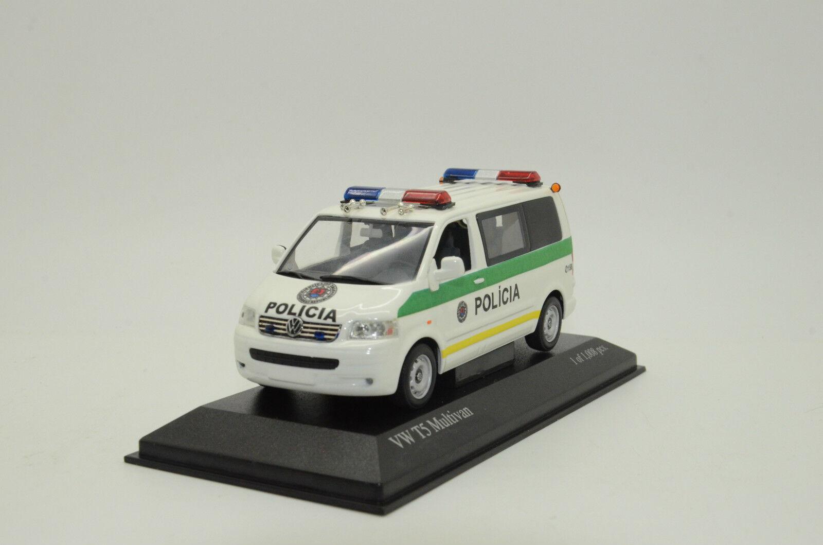 ATLAS IXO 1//43 VOLKSWAGEN VW T4 COMBI FINLAND POLICE POLIS 2000 DIECAST CAR