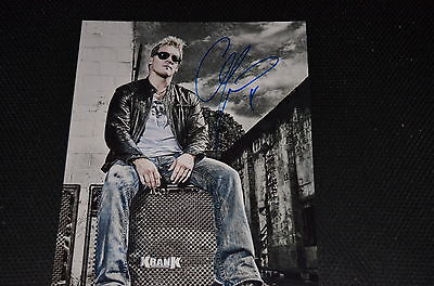 CHRIS JERICHO  signed Autogramm 20x25 cm In Person WWE