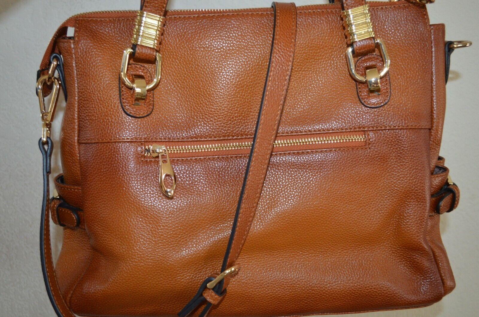 S-ZONE Women's Vintage Genuine Leather Handbag Shoulder Bag
