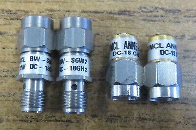 Mini-Circuits MCL 6 dB Attenuator Model BW-S6W2  SMA 50 OHM  DC To 18 GHz