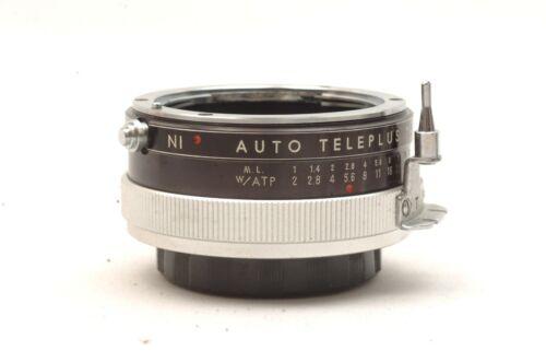 @ Ship in 24 Hours! @ Rare! @ NI Auto Teleplus 2X Nikon F-Mount Teleconverter