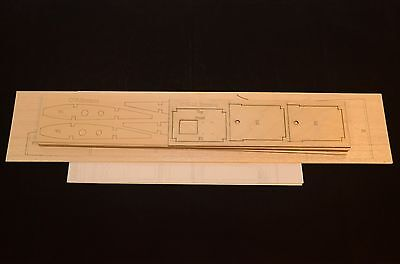 BRONCO OV-10 Laser Cut Short Kit, Plans & Instruction 52 in. wing span