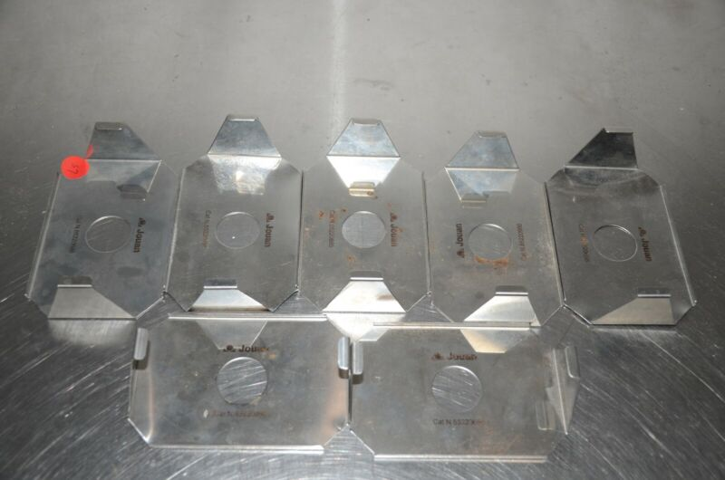 Jouan 85220666 Centrifuge Microplate Holder LOT OF 7