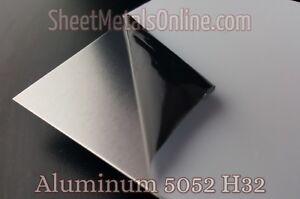 Aluminum Sheet Metal 5052 H32 Mill Finish (0.032