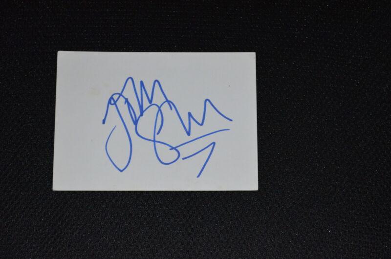 JIM STURGESS  signed  Autogramm In Person 10x15 cm weisse Karte
