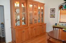 Two solid timber American Cherry wall units Port Macquarie Port Macquarie City Preview