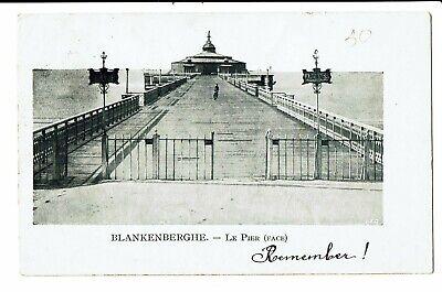 CPA - Carte Postale -Belgique - Blankenberge Le Pier vu de face- VM3481