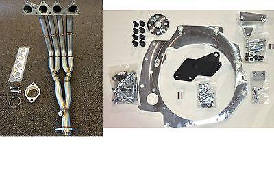 H2B Adapter Kit H22 H23A B Series Trans Civic 92-95 EG 94-01 DC2 with h2b header