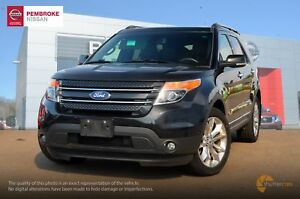 2015 Ford Explorer Limited 2015 Ford Explorer Limited 4WD SUV
