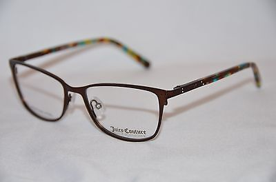NEW Juicy Couture Eyeglasses 150 0YLG Semi Shiny Brown 51-16 AUTHORIZED DEALER