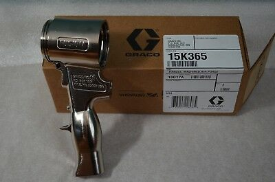 Graco 15k365 Handle Machined Air Purge Genuine Graco
