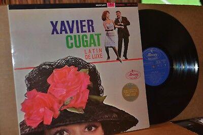 XAVIER CUGAT: LATIN DELUXE; MERCURY 7022 MINT- JAPANESE PRESSING LP