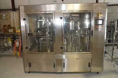 Beverage Bottling Equipment Washing Filler Capping Machine