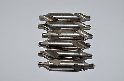 Zentrierbohrer  Set Ø4mm HSS, 6Stück, DIN 333, RHV4487
