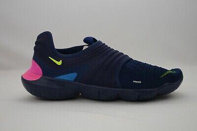 Nike Free RN Flyknit 3.0 Navy Men's Size 8-13 New in Box AQ5707 400