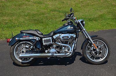 2016 Harley-Davidson Dyna  2016 Cosmic Blue Pearl Harley Davidson Dyna Lowrider FXDL Stage 1 Kit Warranty!