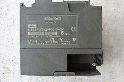 SIEMENS 6ES7315-2AF030AB0 SIMATIC S7 C&C Machine 6ES7 315-2AF030AB0  for sale  Lebanon