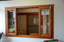 BI FOLD SERVERY WINDOW, SOLID CEDAR, 1930X1200H, 6mm SAFETY GLASS Vineyard Hawkesbury Area Preview