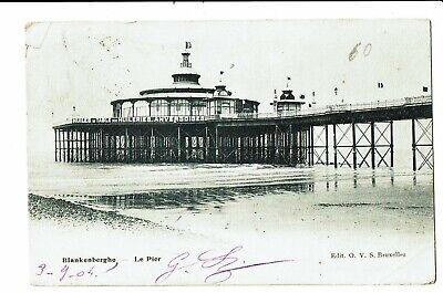 CPA - Carte Postale - Belgique Blankenberge- Le Pier vu de côté-   VM3494