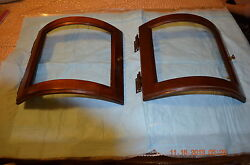 SIDE ACCESS PANELS for Ridgeway Grandfather Clock Door with Glass set of 2