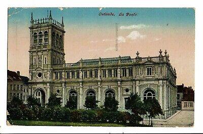 CPA-Carte postale-Belgique - Oostende  - La Poste-1923 - VM459