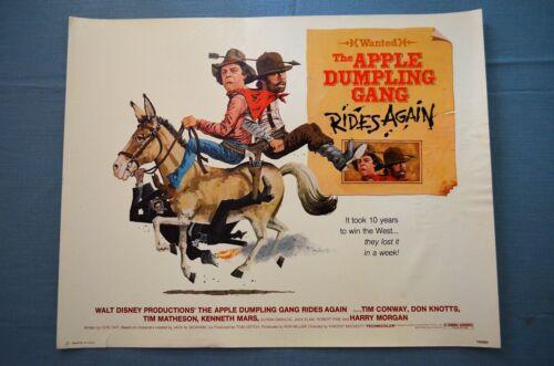 "Vintage Movie Poster,  ""The Apple Dumpling Gang Rides Again"" (1979)"