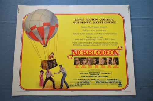 """Vintage Movie Poster,  """"Nickelodeon"""" (1976)"""