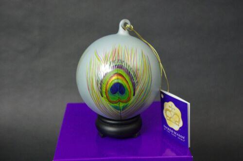 Sacred Season IMMORTALITY Glass Ornament Hand Painted Gift Christmas Easter