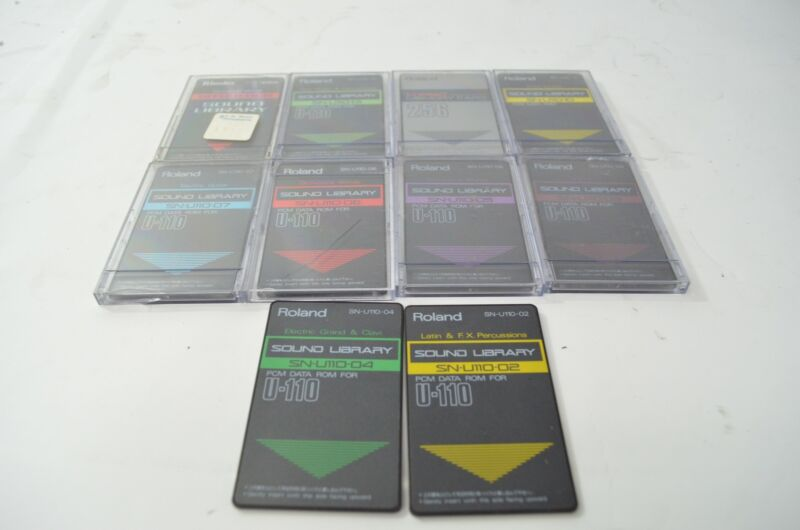 Roland PCM Sound Card Lot