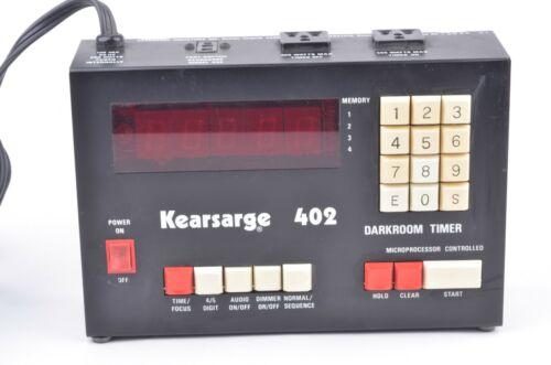 EXC++ KEARSAGE MODEL 402 DIGITAL DARKROOM TIMER, TESTED, WORKS GREAT, CLEAN
