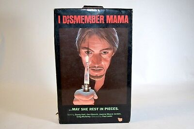 I Dismember Mama (Beta)  VIDEO GEMS BIG BOX RELEASE,  CULT HORROR MOVIE Betamax
