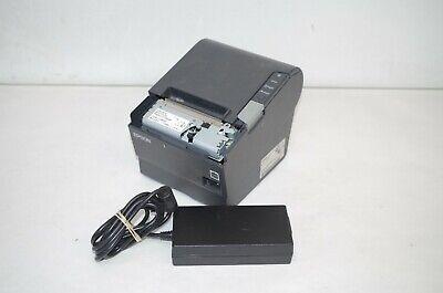 Epson Model Tm-t88v Printer Usb Parallel Pos Printer Missing Front Cover