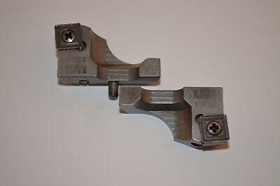 Wendepattenhalter-Paar  Kaiser SWISS MADE  Typ RW53 637.151  Ø53-70mm RHV10916