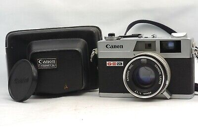 @ Ship in 24 Hours! @ Canon Canonet QL17 G-III Film Rangefinder Camera 40mm f1.7 for sale  Shipping to Canada