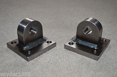 welded rounded Shackle Mounts bumper winch D-ring bolt plates for sale  Epping