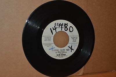 THE NEWTON BROTHERS WITH WAYNE; I STILL LOVE YOU; GEORGE 7780 WL PROMO TEEN 45