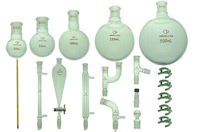 Proglass Glass Primay Organic Chemistry Kit 1922 Lab Glassware Set