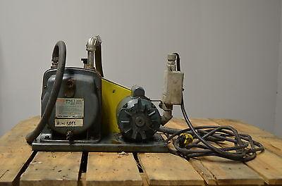 Cenco 91506 Hyvac Vacuum Pump Reliance Electric Motor 38 Ports 13 Hp 115 V