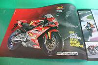 Aprilia Rs 125 Racing Moto Jorge Lorenzo Champion Pieghevole Catologue Katalog - champion - ebay.it