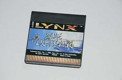Blue Lightning (Atari Lynx) Game Cart Only. Tested and working