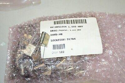 Pletronics Mp51004 1 Mhz Crystal Oscillator Lot Of 10 Pieces