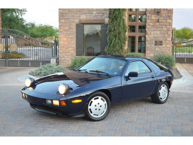 Porsche : Other 928 1985 Porsche 928S 5-Spd Rare color combo 2 owner beautifully maintained