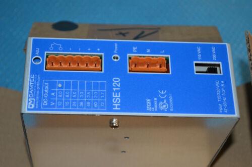 CAMTEC HSE120 Power Supply